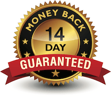 14 day guarantee badge